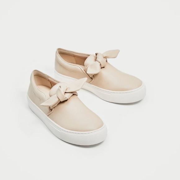 Zara Shoes   Womens Zara Cream Size 36